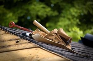 Werkzeug für Dachdecker